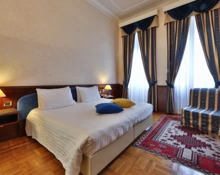 Looking for service and hospitality for your stay in Genoa? book/reserve a room at the BEST WESTERN Hotel Moderno Verdi
