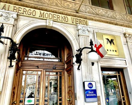 Discover BW Hotel Moderno Verdi, the 4-star Hotel in the centre of Genoa