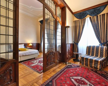 Discover the comfortable rooms at the Best Western Hotel Moderno Verdi in Genoa