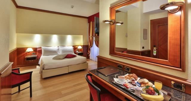 camere singole moderne verdi : Camere Albergo in centro Genova Best Western Hotel Moderno Verdi